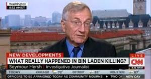 el periodista estadounidense Seymour Hersh, quien hizo las acusaciones en el London Review of Books a principios de este mes, exponiendo que los paquistaníes se vieron obligados a dar a Washington permiso para matar a Bin Laden una vez que la CIA pudo confirmar su presencia en Pakistán.