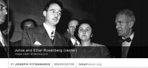 El argumento es que Ethel fue condenado a muerte como una advertencia a Moscú, así como para intimidar a otros espías estadounidenses, más que sobre la base de la evidencia real de su participación en el espionaje. Muchos años después de la ejecución de los Rosenberg, Greenglass afirmó que había mentido sobre el papel de Ethel en el asunto de espionaje con el fin de proteger a su esposa, que era la mecanógrafo real de la red de espionaje.