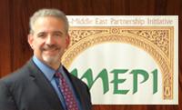 """MEPI está actualmente dirigida por Paul Sutphin, que anteriormente fue cónsul general de Estados Unidos en Erbil, Irak y más recientemente, Director del """"Office of Israel and Palestinian affairs at the state department´s Bureau of Near Eastern Affairs""""."""