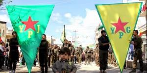 """La clase dominante de Turquía teme a la consolidación de una zona controlada por los kurdos en el norte de Siria por el PYD / YPG, un desplazamiento del PKK, un grupo guerrillero separatista kurdo en Turquía. Se combina la lucha contra ISIS con una presión cada vez mayor sobre la PYG-YPG y el PKK. El llamado """"proceso de paz"""" con el PKK y su líder encarcelado Abdullah Öcalan esta considerado como muerto. El gobierno también está atacando el Partido Popular Democrático (HDP), el partido kurdo legal que ganó el 13 por ciento de los votos en las últimas elecciones, privando al AKP gobernante de su mayoría."""