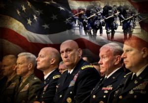 """profesionales, juristas, periodistas y otras personas que propaguen ideas que se opongan a la guerra constituyen una oposición """"traidora"""" que debe ser sometida por la fuerza militar.."""