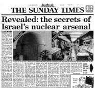 """En 1986, el ex técnico nuclear israelí Mordejai Vanunu reveló a The Sunday Times la posesión de armas nucleares de Israel en el reactor Dimona, en el desierto de Neguev. Hace 29 años Vanunu infirió que Israel poseía 200 bombas atómicas clandestinas en su gueto nuclear, que hoy han alcanzado un máximo de """"400 bombas termonucleares y de hidrógeno"""