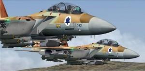 Seis aviones de combate rusos Sukhoi SU-30 pusieron en fuga a cuatro cazas israelíes F-15 que se acercaban a Latakia.