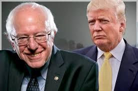 ¿Por qué los estadounidenses están apoyando Trump y Sanders lo largo de los candidatos respaldados por la corriente dominante máquinas políticas