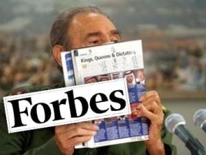 Durante más de 10 años, Forbes señaló a Fidel Castro como el jefe de Estado más adinerado del mundo. Hoy está ampliamente demostrado que aquello era pura propaganda… pero Forbes nunca se excusó.