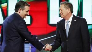 Ted Cruz y John Kasich se alían para tratar de evitar que Donald Trump logre en la recta final de las primarias los delegados que le restan para ser nominado.