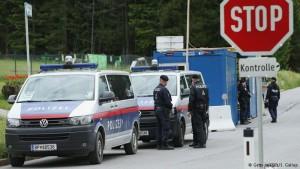 Fuertes medidas de seguridad en la Conferencia del club Bilderberg, en Tirol, Austria, 2015.