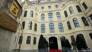 Bilderberg 2016 en el Hotel Taschenberg, en el centro de Dresden.