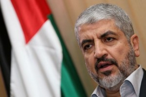 """El ex director del Mossad expuso en la conferencia que """"mientras Israel se niega a hablar con Hamas, y en ausencia de cualquier otra alternativa, [Hamas] no tiene más remedio que hacer lo que hace ahora"""". Foto: Jaled Meshal. El jefe del Movimiento de Resistencia Islámico HAMAS"""