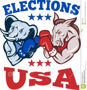 """""""Una mayoría de estadounidenses, el 60%, dicen que se necesita un tercer partido político importante porque los partidos republicano y democrático"""" hacen un pobre trabajo tan """"de representar al pueblo estadounidense""""."""