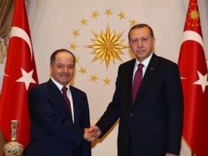 El 23 de agosto de 2016, en Ankara, el presidente turco Recep Tayyip Erdogan y su homólogo del gobierno regional kurdo de Irak, Massud Barzani, concluyeron una alianza contra los otros kurdos.