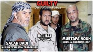 Abdelhakim Belhadj y otros miembros de la afiliada Grupo Islámico Combatiente Libio al-Qaeda estaban participando en la rebelión en marzo de 2011. De acuerdo con informesde inteligencia, Abdelhakim Belhadj, fue ratificado como el comandante de la organización  ISIS dentro de Libia
