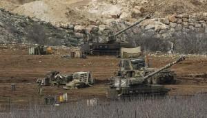 La artillería israelí cañoneó el lado sirio durante toda la tarde y la aviación de Israel disparó también contra el territorio sirio desde el espacio aéreo israelí. Los yihadistas operaron con apoyo aéreo de Israel.